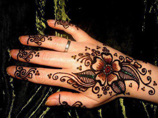 latest mehndi designs for eid 2012 stylish henna designs