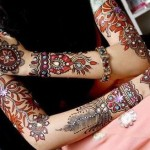 Latest Bridal Mehndi Designs 2012 | Henna Designs For Brides