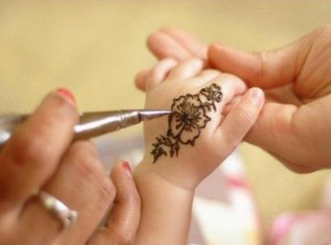 Mehndi designs for kids | Eid collection 2012