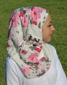 Scarf Fashion for Pakistani Women - Latest Hijab styles 2012