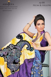 limited edition lawn collection by Asim Jofa