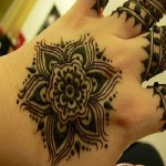 Mehndi tattoo designs for Eid 2012