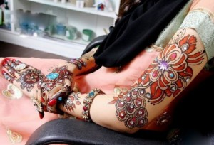 Stylish Bridal Mehndi Designs 2012