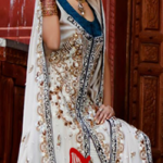 Beautiful Pakistani bridal dresses by Rizwan Moazzam