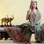 Bridal Pakistani Walima Dresses 2012 - Latest Asian Fashions