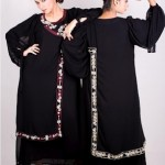 Black abaya designs for women 2012 - Maaz collection