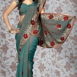 Indian sari trends 2012 - Online Saree Fashions
