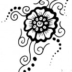 Mehndi tattoo designs for women