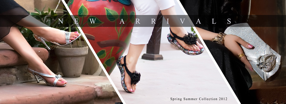 Metro Shoes Eid Collection 2012 | Spring-Summer Shoes For Women