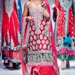 Pakistani bridal wedding dresses 2012