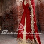 bridal wedding dress by Rizwan Moazzam
