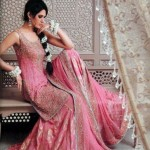 Pakistani Walima dress for bridals - Pink lehnga for bridals