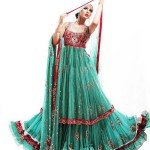 Latest walima bridal dresses 2012 in pakistan