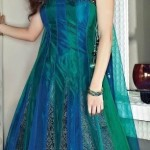 latest women stylish party wear dresses 2012