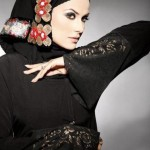 meemseen abaya trends and latest scarf fashions 2012