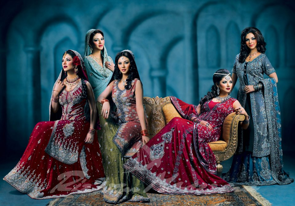 pakistani bridals dresses collection