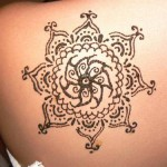stylish mehndi tattoos