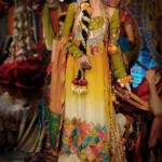 Bridal Floral Jewelry designs 2012 - Mehndi Dress trends in Pakistan
