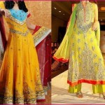 Mehndi Dresses In Pakistan For 2012-2013