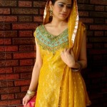 Beautiful Pakistani Bridal Mehndi Dress