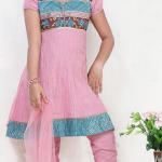 Pakistani fancy child Fashion frock-2012
