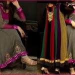 Pakistani wedding party dresses – Embroidered Party dresses 2012