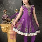 anarkali party wear frock for kids - wedding dresses designs