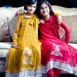 frocks for kids 2012 - Stylish frock designs