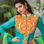 Pakistani party wear dress collection for women