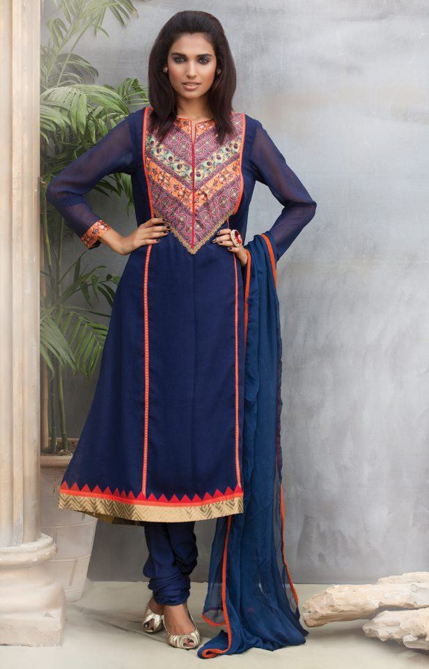 Latest Party Dresses 2012-13 for Women