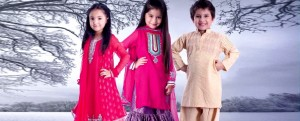stylish pakistani kids dresses 2012