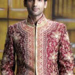 Asian wedding dresses - sherwani designs