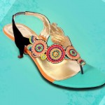 Fancy stylo shoes for eid 2012 - Pakistani branded shoes for Girls