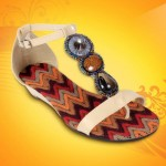 Flat shoes by Stylo 2012 - Eid shoes designs