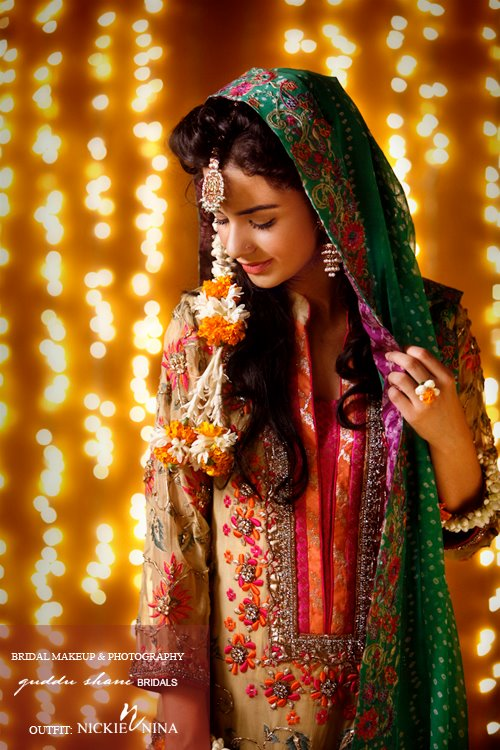 Bridal Mehndi Makeup Pics : Bridal mehndi makeup trends