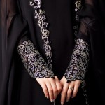 party wear abayas 2012 - Stylish abayas 2013