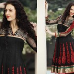 Asian frock designs 2013