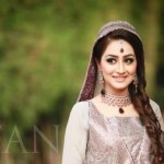 Bridal makeup for engagement and nikah