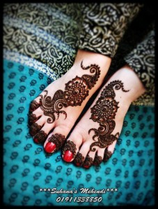 Bridal mehndi designs for feet 2013