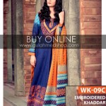 Embroiderd khaddar collection by gul Ahmed