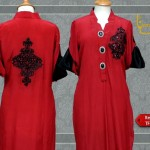 Latest collection of kurta logo 2013 – Back embroidery and printing designs