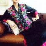 Embroidered party wear collection - Party dresses for women - Latest Party dresses collection 2012-2013