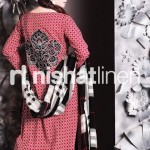 Floral logo kurta design for women