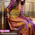 Khaddar Dress designs by Gul Ahmed