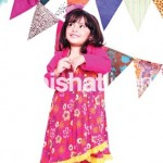 Kids winter outfits 2013 - Pink dress designs for girls