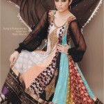 Long frock designs 2012