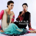Maria.B-Evening-party-Wear-Dresses-Collection-2012 - Pakistani party wear dresses by Maria B ,Party wear shalwar kameez trends