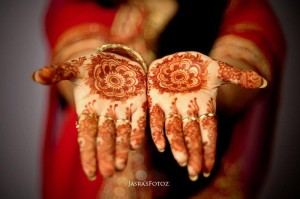 tikya bridal mehndi design for hands