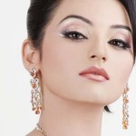 Model Sadia Khan - Party makeup for Evening