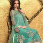 Stylish pakistani frocks designs winter 2013 | Churidar frock styles